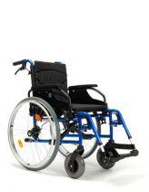 Leichtgewicht-Rollstuhl D200-V, mit Trommelbremse, Sitzbreite 48 cm