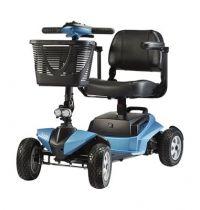 Elektro-Scooter listo, ohne Licht