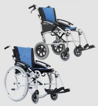 Reise-Transport-Rollstuhl G-lite Pro, 24 Zoll Räder hinten, Sitzbreite 45 cm