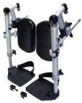Beinstützen für Rollstuhl .Caneo, MR-S und MR-LG, für Sitzbreite 42 bis 45 cm
