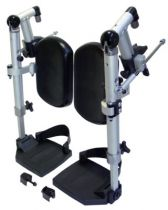 Beinstützen für Rollstuhl .Caneo, MR-S und MR-LG, für Sitzbreite 48 bis 51 cm