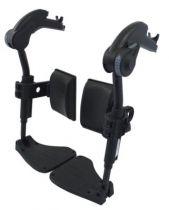 Beinstützen für Rollstuhl Action 1R, 2NG und 3NG, für Sitzbreite 43 cm, rechts