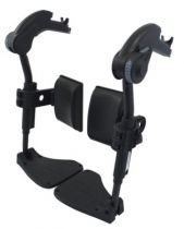 Beinstützen für Rollstuhl Action 1R, 2NG und 3NG, für Sitzbreite 45,5 cm, rechts