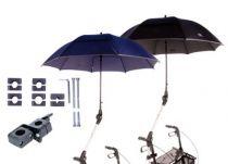 Rollator- und Rollstuhlschirm 99, Farbe blau