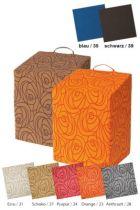 Sitzkeil- und Stufenwürfel Sitty® Basic, Farbe orange