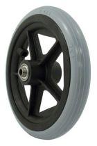 Rad mit PU-Reifen, 5 Speichen