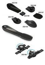Armschalensystem, modular für Rollstuhl, zusätzliche Halteplatte