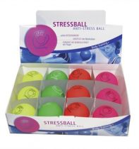 Anti-Stressball im Display