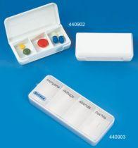 Tablettendose, klein 6,6 x 3,3 x 1,5 cm