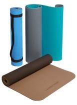 Yoga Matte Deuser TPE, Farbe hell-/dunkelblau