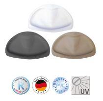 Kopfpolster Tecno+, Farbe grau
