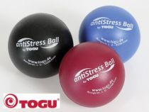 Anti-Stress Ball, Display farbig sortiert
