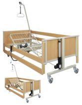 Pflegebett aks-L4, Metall-Liegefläche