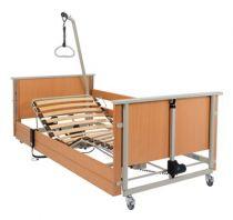 Pflegebett aks-D4 low entry, Liegefläche aus Federholzleisten