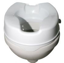 Toilettensitzerhöhung ohne Deckel , Höhe 10 cm