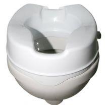 Toilettensitzerhöhung ohne Deckel , Höhe 13 cm