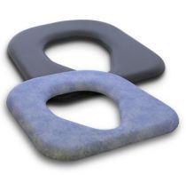 Sitzbrille für Toilettenstuhl 9062, Farbe blau-grau