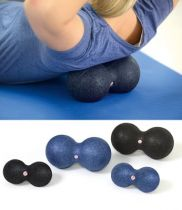 Myofascia Double Ball Sissel®, Größe ca. 12 x 24 cm, Farbe blau