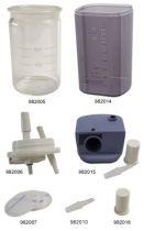 Zubehör für ATMOS Sekretsauger LC 16/G, 16N, C 161 DDS und Atmolit 26/G, Schlauchverbinder für Schläuche